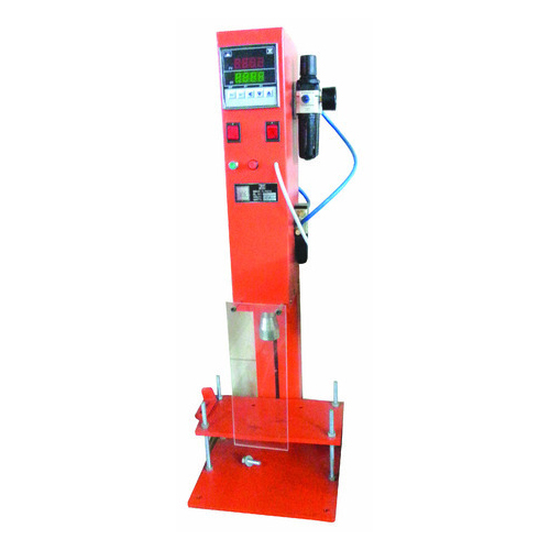 Pneumatic Operated Crown Cap Sealing Machine
