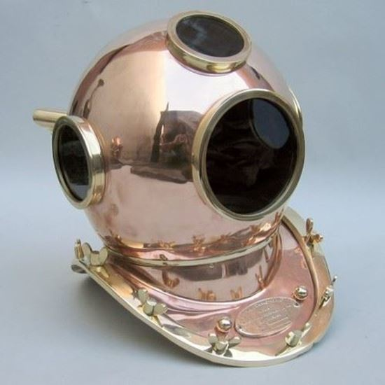 Sunglasses Brass & Copper Divers Helmet