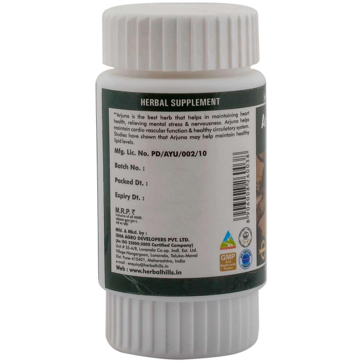 Ayurvedic Heart Care Capsule - Arjuna Capsule - Arjunahills 60 capsule