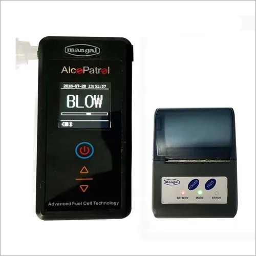 Alcohol Breath Analyzer PT100p