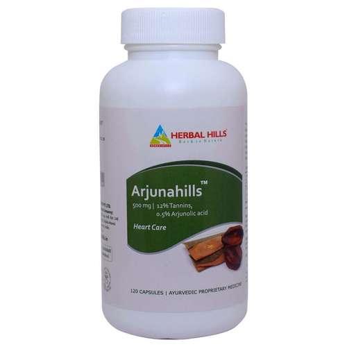 Ayurvedic Heart Care Capsule - Arjuna Capsule - Arjunahills 120 capsule