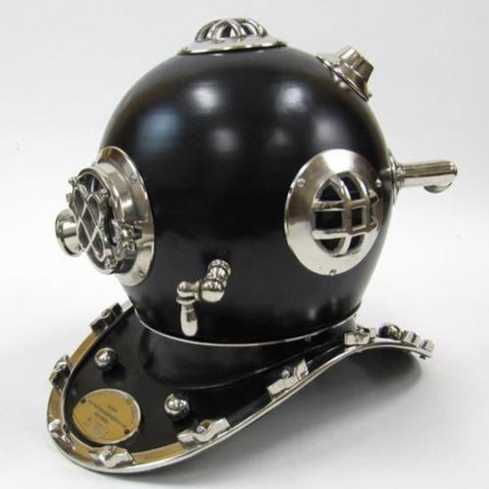 Mark V Black Divers Helmet
