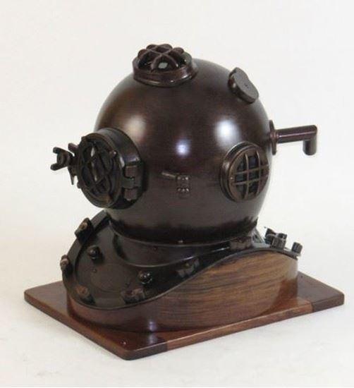 Antique Iron Diver Helmet Mark V