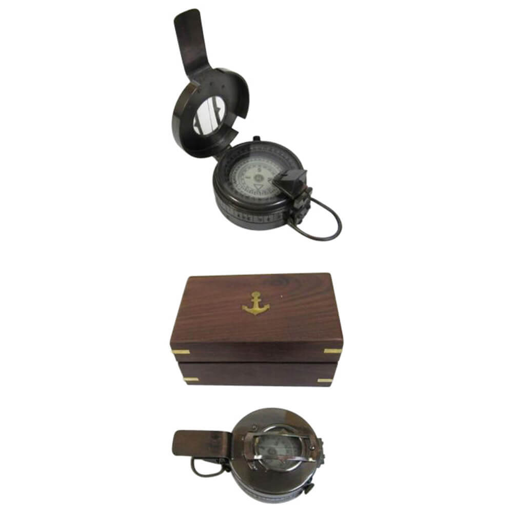 Brass British Prismatic Compass