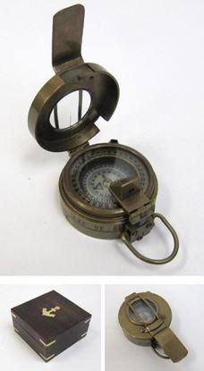 Antique British Prismatic Compass