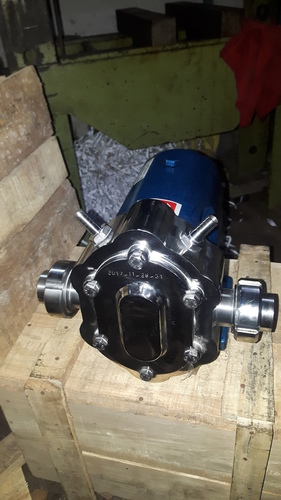 Jacketed Lobe Pump