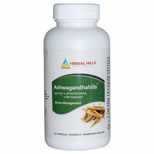 Ayuredic Stress relief capsule - men's health capsule -Ashwagandha 120 capsule