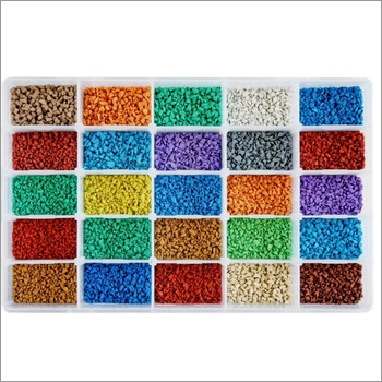 Multi Color Plastic Granules