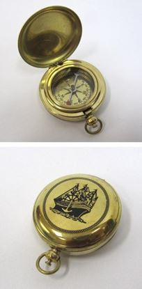 Solid Brass Dalvey Compass Ship Design