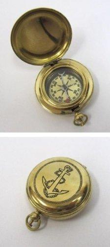 Solid Brass Dalvey Compass Anchor Design