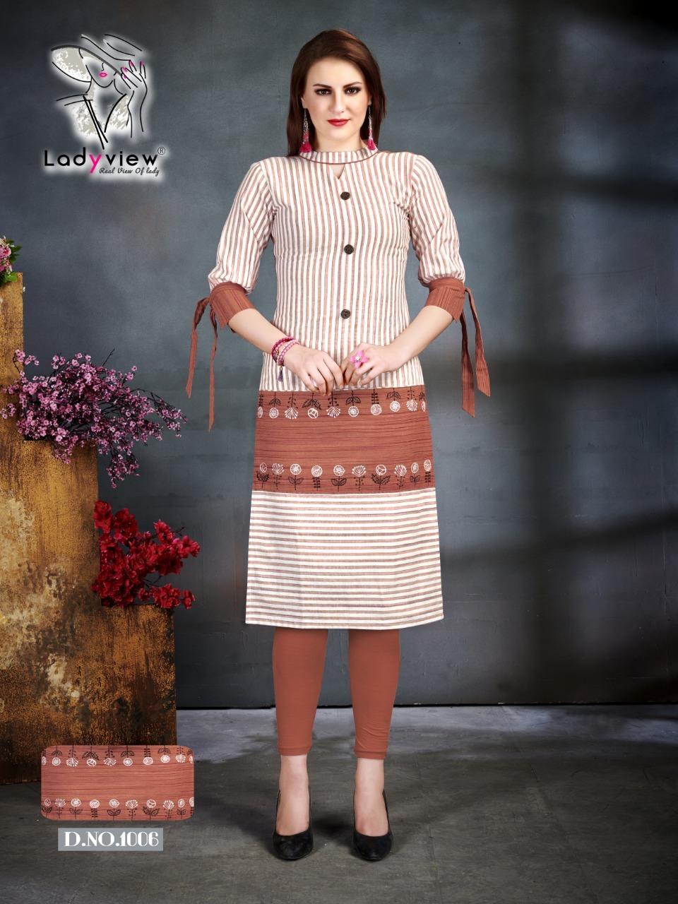 Designer Handloom Cotton with handwork Long Kurti