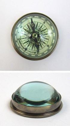 Paper Weight Marine Desktop Compass
