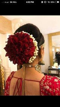 Sabhya Sanchi Bridal Bun