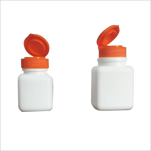 HDPE White Pharmaceutical Bottle