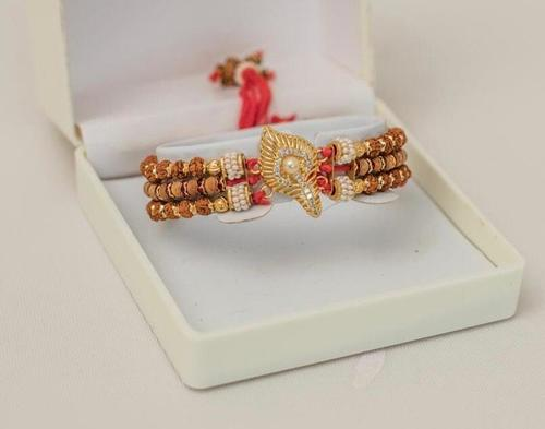 Rudraksh rakhis and bracelets