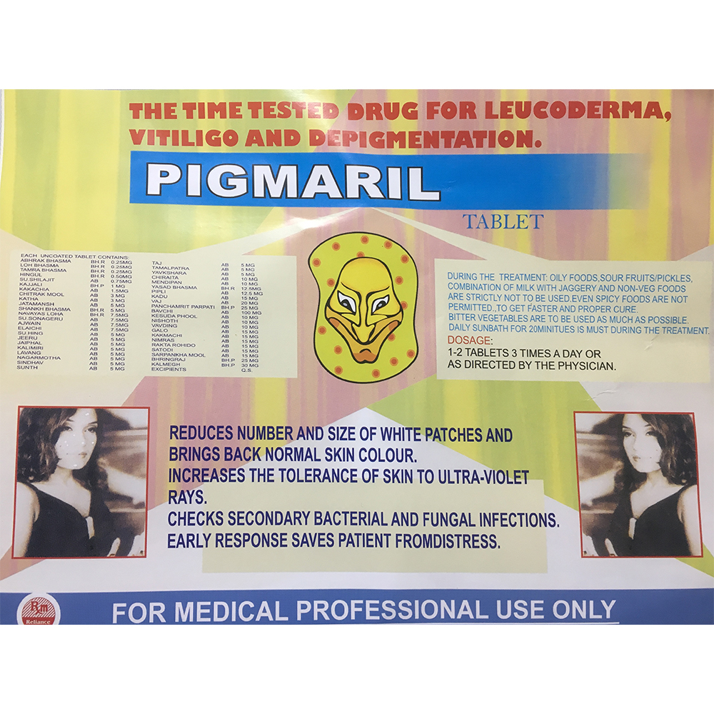 Pigmaril Tablet