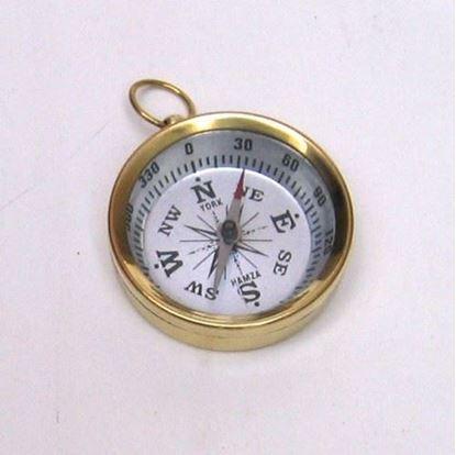Portable Brass Pocket Compass
