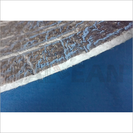 Aluminium Foil Coated Ceramic Fabric