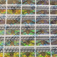 Multicolor Holographic Stickers