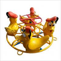 Playground Duck Merry Go Round