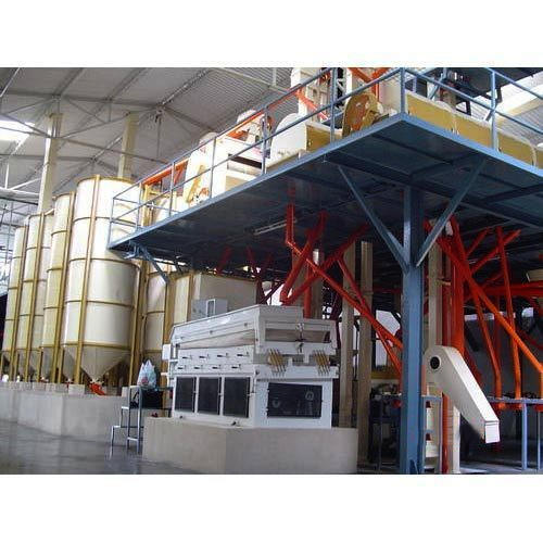 Automatic Dal Mill Plant