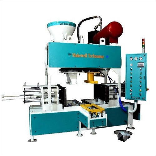 Fully Automatic Vertical Cold Box Core Shooter Machine