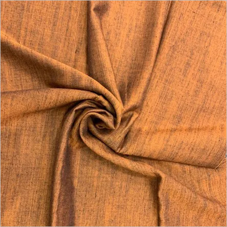 Rayon Silk Fabric-Rust