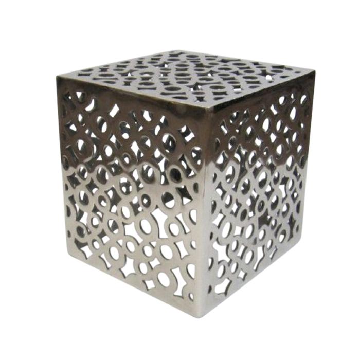 Outdoor-Indoor Aluminum Stool