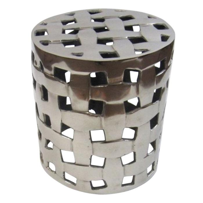 Antique Aluminum Stool