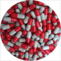 Vegetarian Red Grey Size 0 Capsules