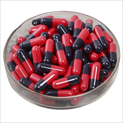 Gelatin Size 0 Red Black