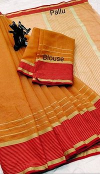 Party Wear Kota Doria Silk Saree
