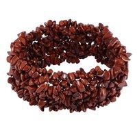 Handmade Jewelry Manufacturer Red Jasper Gemstone stretchable Bracelet Jaipur Rajasthan India
