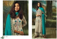Cotton printed salwar kameez