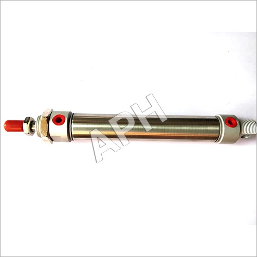 S.S Round Body Pneumatic Cylinder