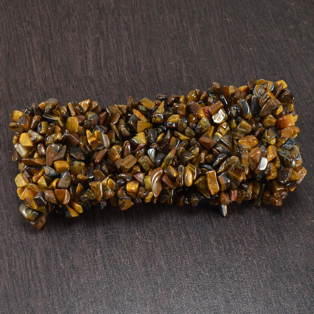 Jaipur Rajasthan India Tiger Eye Gemstone Chips Stretchable Bracelet Handmade Jewelry Manufacturer