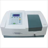 Single beam UV-Vis spectrophotometer scanning software