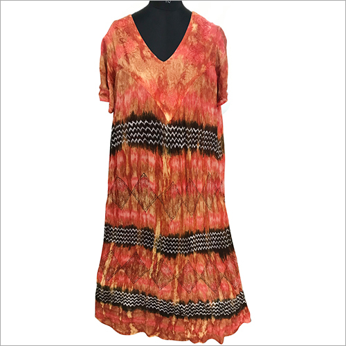Ladies Tie Dye Umbrella Dress