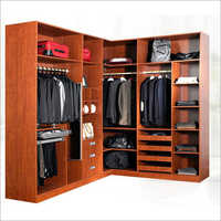 18mm MFC Wooden Wardrobe Closet