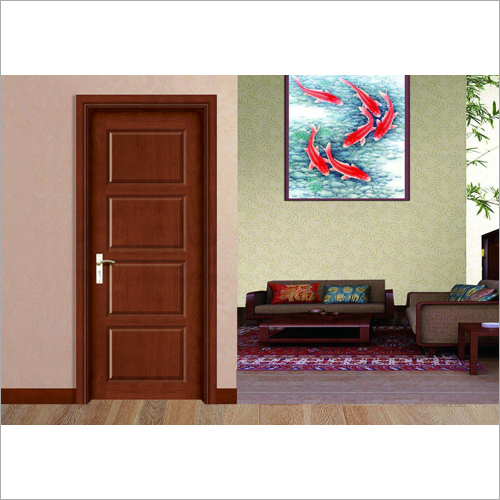 Commercial Four Panel Flat Interior Door