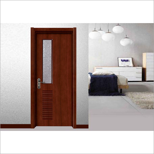 Good Quality Wooden Door with Glass Ventilation