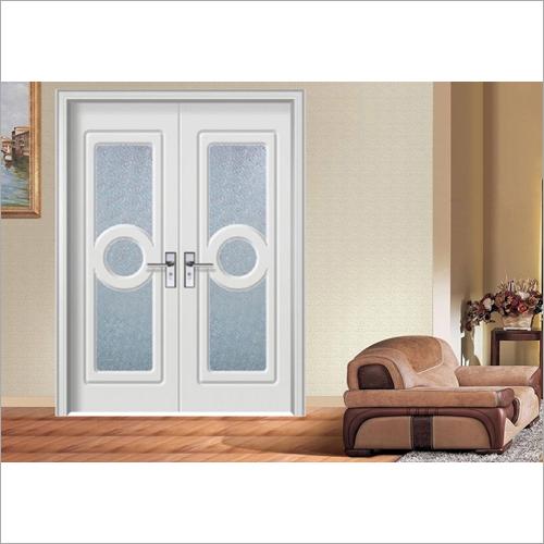 Double Glass MDF Board Door