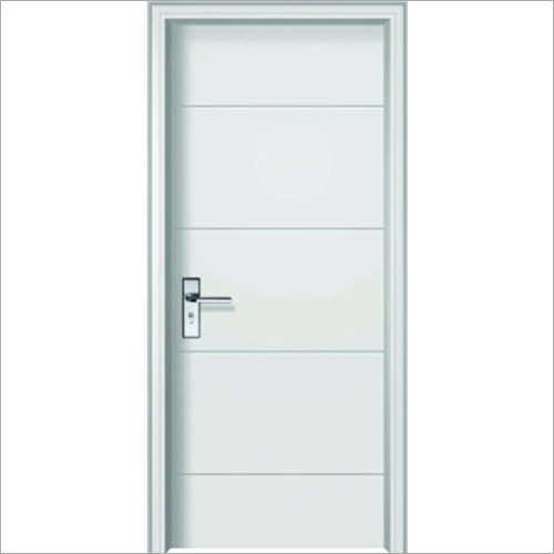 PVC Vinyl White MDF Interior Door