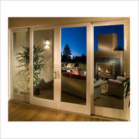 Glass Wooden Sliding Door