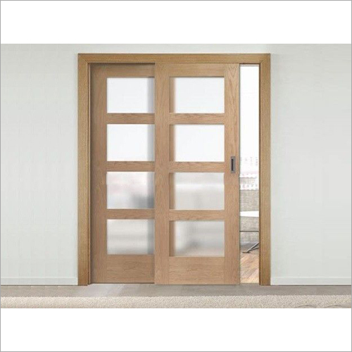 Ash Cherry Two Double Sliding Door