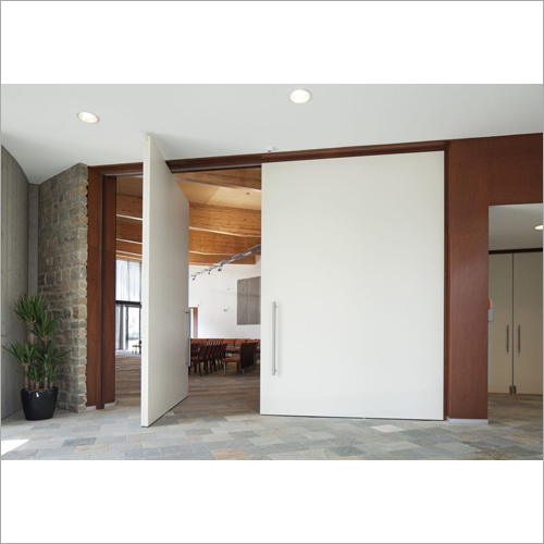 Office Building Wooden Swing Door