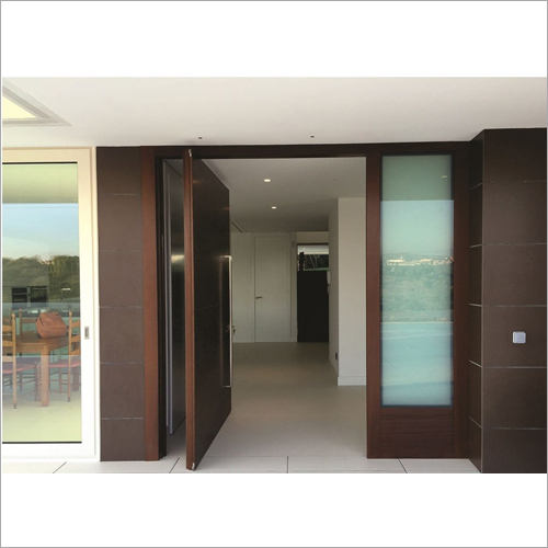 Entrance Wooden Pivot Door