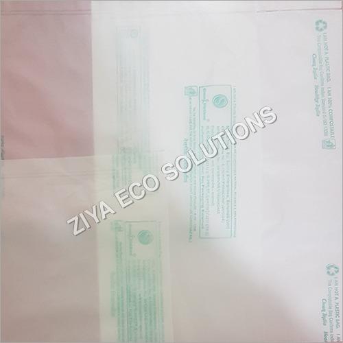 Transparent Plain Compostable Pouch Bag