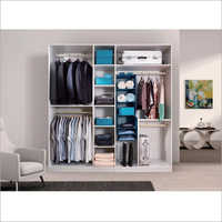 Melamine MDF Wardrobe Custom Wood Closet System