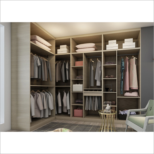 Plywood Walk In Closet System